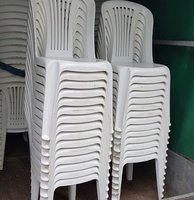 Plastic Stacking Bistro Chairs