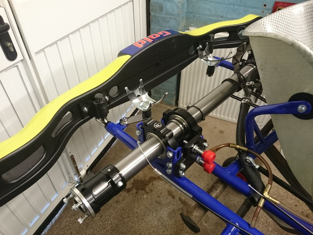 Secondhand Karting Co Uk Rolling Chassis Gold Kart