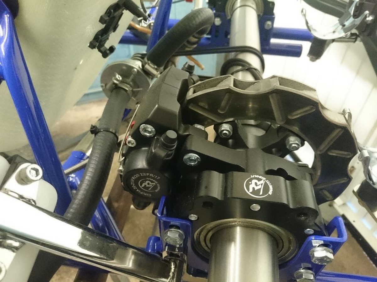 Gold Kart GTR30 KZ 125 Gearbox Chassis