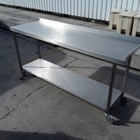 Used Stainless Steel Table (7270)