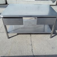 Used Stainless Steel Table (7274)