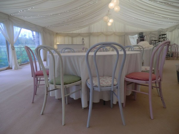 Shabby Chic Pastel Chairs