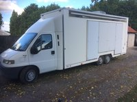 Torton Built Tri-axle Exhibition Vehicle Fiat 2.8 JTD