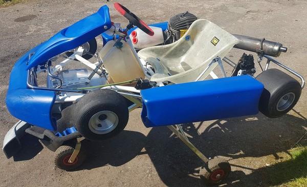 Used JICA 100 Race Kart