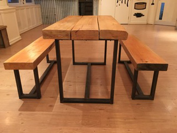 Bench dining set for sale