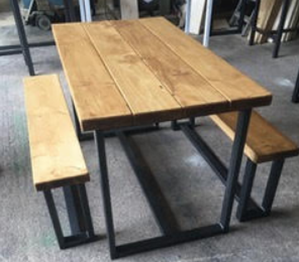 Dining bench set