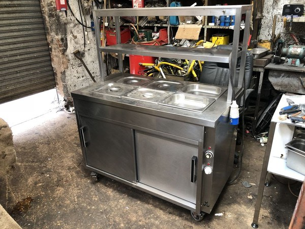 Secondhand bain marie for sale