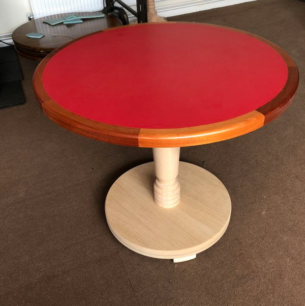 Red tables for sale