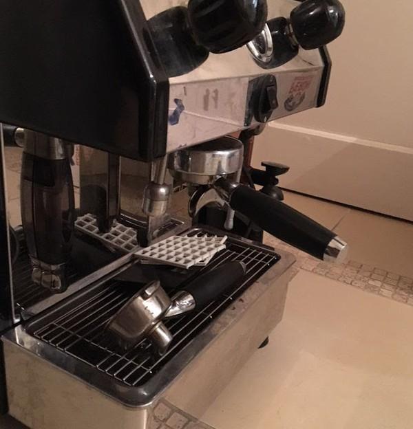 Fracino Single Group Coffee Machine + Grinder + Knock Box