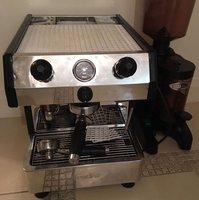 Fracino Single Group Coffee Machine + Iberital Grinder + Knock Box