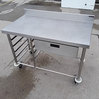 Used Stainless Steel Table (7279)
