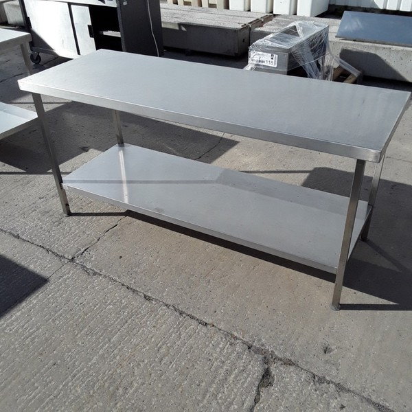 Used Stainless Steel Table (7278)