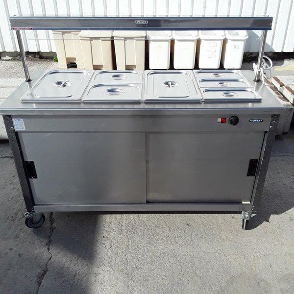 Used Moffat 4FBM Carvery Unit Dry Bain Marie (7277)