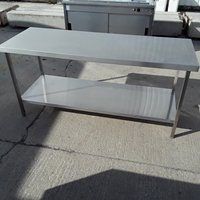 Used Stainless Steel Table (7276)