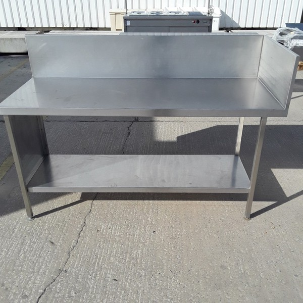 Used Stainless Steel Table (7275)