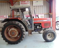 Massey Ferguson Farm Tractor 390 2WD, 80HP, 1990