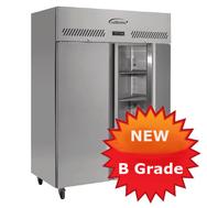B Grade double door jade freezer