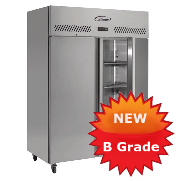 B Grade double door jade freezer