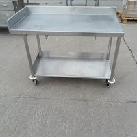 Used Stainless Steel Table (7288)