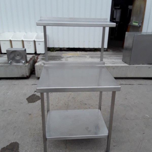 Used Stainless Steel Table (7286)