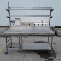 Used Stainless Steel Table Shelf	(7285)