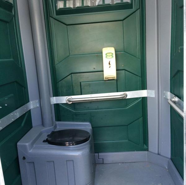 Disabled toilet unit