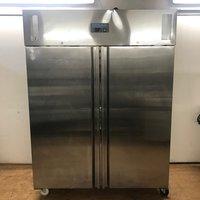 U635 Stainless Steel Double Freezer