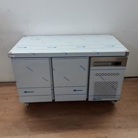 New B Grade Sterling Pro SPP7 Stainless Steel Bench Fridge (7300)