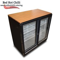 Used Blizzard Double Display Drinks Cooler