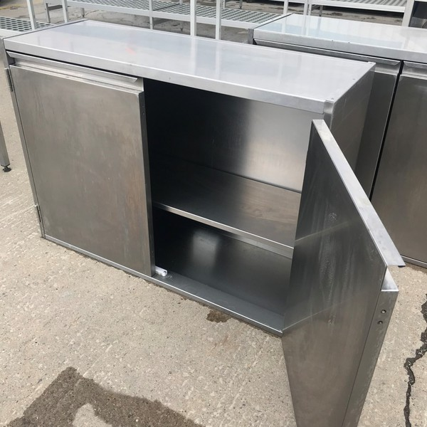 Used commercial kitchen cupboard