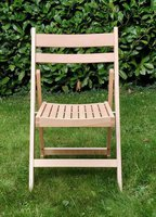 Folding beech chair for sale