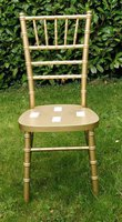 Gold wedding chairs for sale