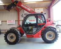 Manitou MLT Maniscopic 120 LSU, 2005 - 7M Reach / 4 Ton Lift