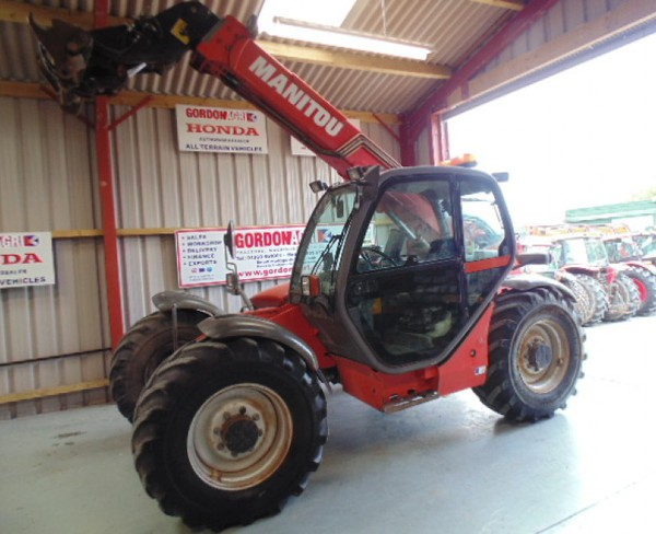 Used Manitou MLT Maniscopic 120 LSU, 2005