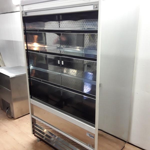 Double deck shop fridge
