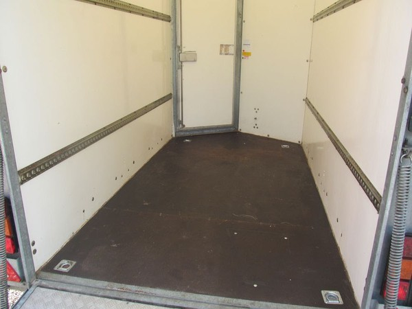 Ifor williams box trailer with tie downs