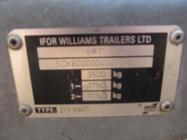 Ifor williams Trailers Ltd box trailer