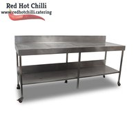 2.210m Stainless steel table for sale