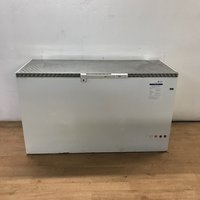 Used Stainless Steel Top Chest Freezer (7338)