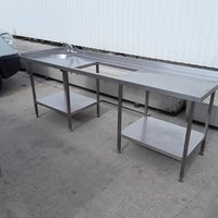 Used  Stainless Steel Hand Sink	(7331)