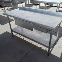 Used Stainless Steel Table Drawer (7336)
