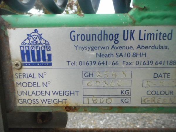 Groundhog UK Limited trailer