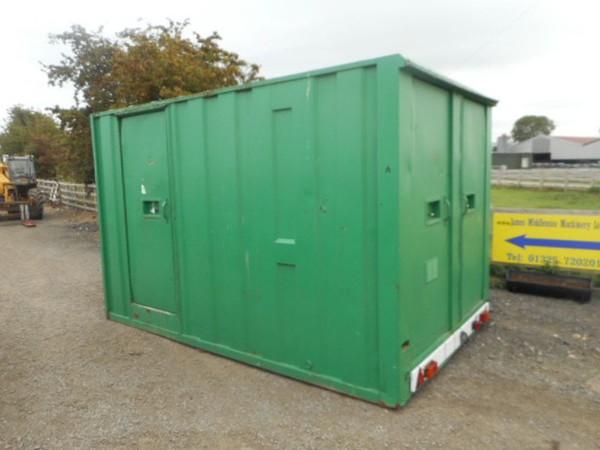 Site cabin trailer