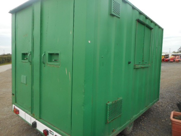 Used Groundhog Welfare trailer