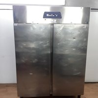 Large double stainless steel fridge