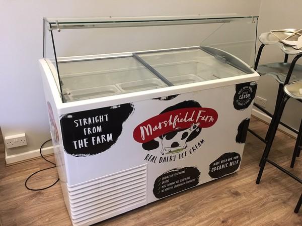 Used Ice Cream Chest Display Freezer