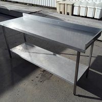 Used   Stainless Steel Table 1.8m