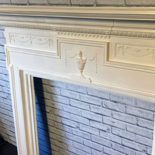 Secondhand fire surround