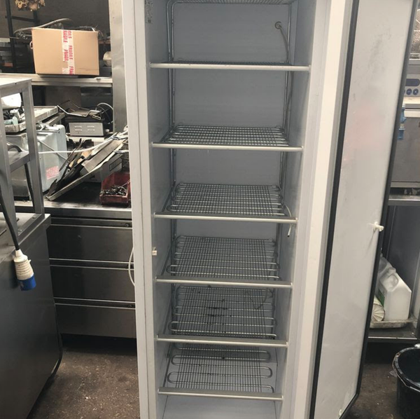 Commercial, upright freezer