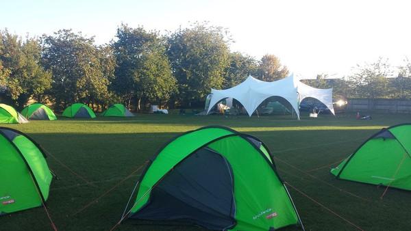 Secondhand  tent